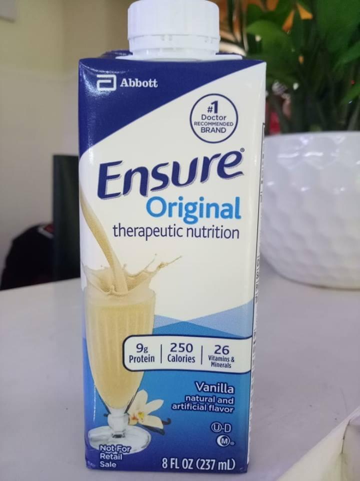 Sữa Ensure 237ml hộp giấy