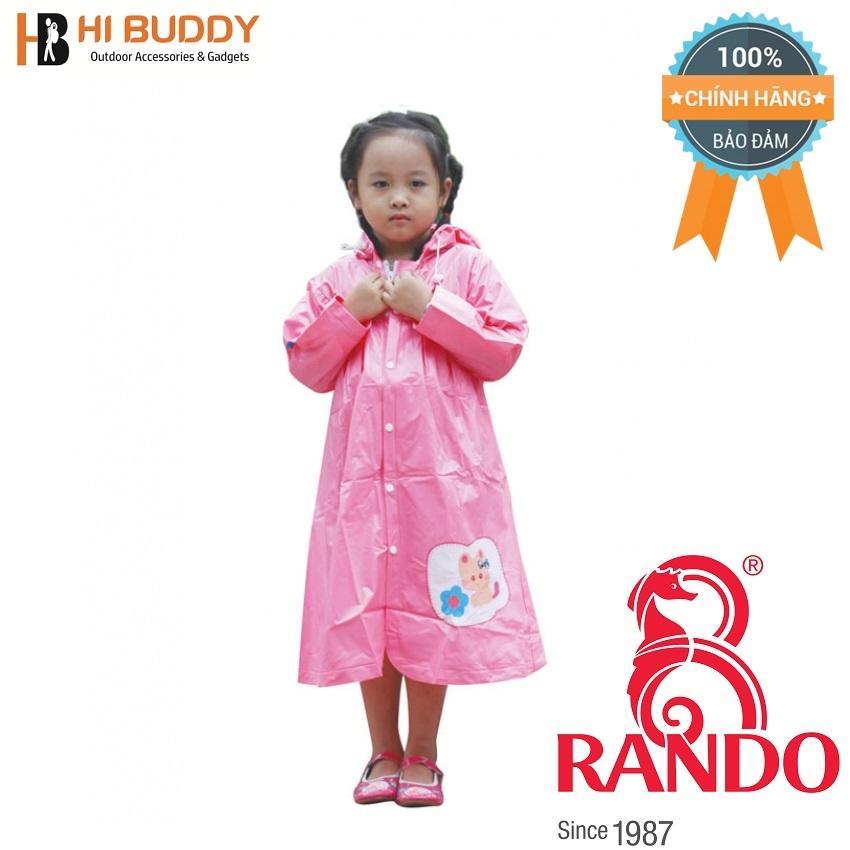 Áo mưa trẻ em Mèo con Rando CPPS-14 Size 4 1.2 – 1.3 m