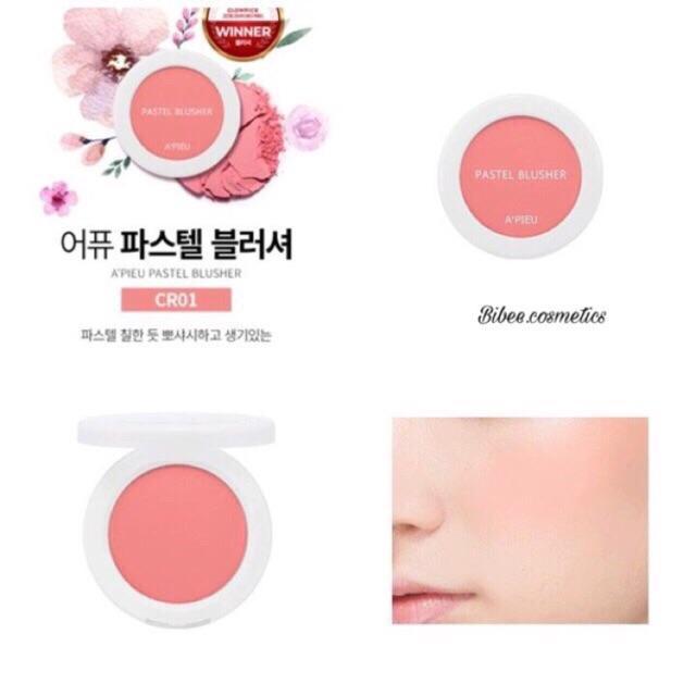 Phấn má hồng A'pieu Pastel Blusher