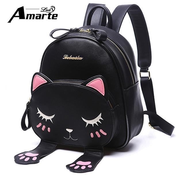balo mini mèo đen dư chân