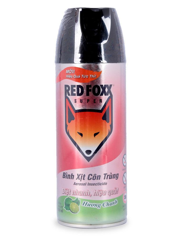 Bình Xịt Côn Trùng Hương Chanh Red Foxx Chai 300ML