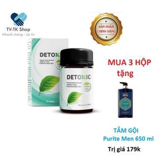 Combo 3 Hộp Thảo Dược Cải Thiện Tiêu Hóa Detoxic 300g (Nhập khẩu Nga) + Tặng kèm Sữa Tắm Gội Purite Men 650ml thumbnail