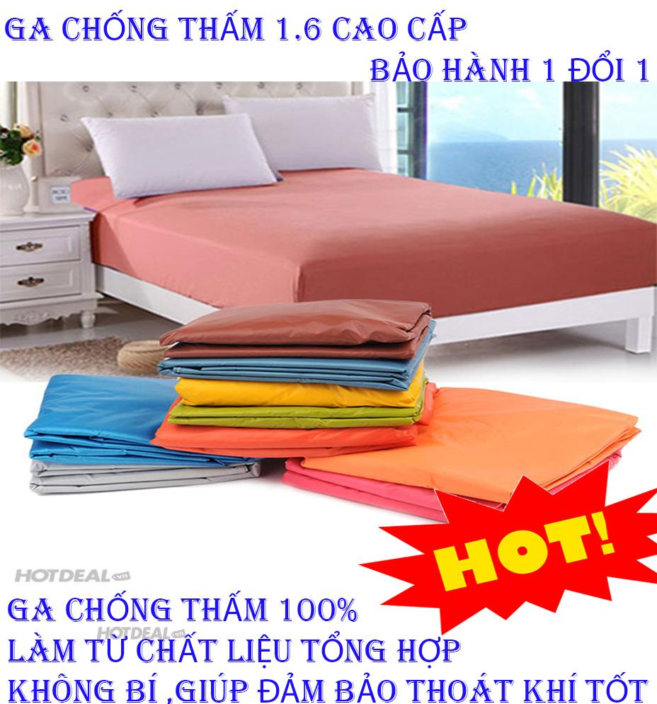 Bo Ra Nem - Ga trải giường chống thấm cho bé - Mua Ga Chống Thấm A1.6M 1m6 x 2m x 10cm, Loại Cao CẤp - Chống Thấm 100%, Không Bí.Rất Tiện Lợi Sang Trọng .Bảo Hành Uy Tín 1 Đổi 1