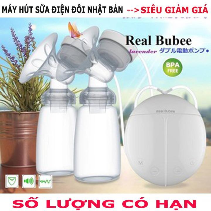 Máy hút sữa điện đôi Real Bubee Công Nghệ Nhật...