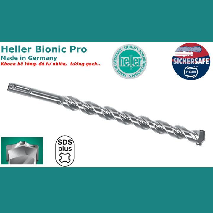 Mũi khoan bê tông Heller Bionic Pro SDS Plus 5x110