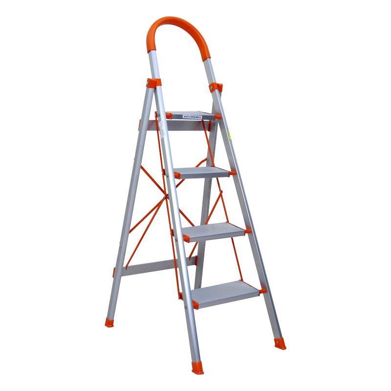 Thang nhôm ghế bản to 4 bậc ADVINDEQ ADS-704 (bậc cao nhất 93cm)