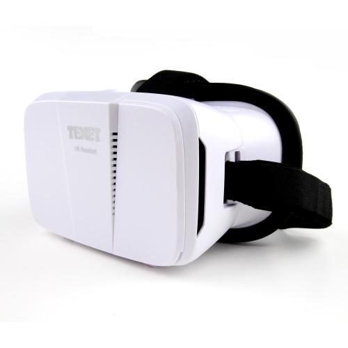 Kính Thực Tế Ảo Texet VR-001 - Trắng - Hàng Chính Hãng
