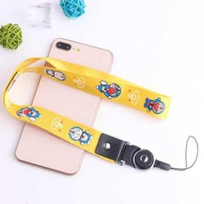 Hình ảnh Dây đeo điện thoại cổ tay, đeo cổ phong cách Hàn Quốc tiện dụng