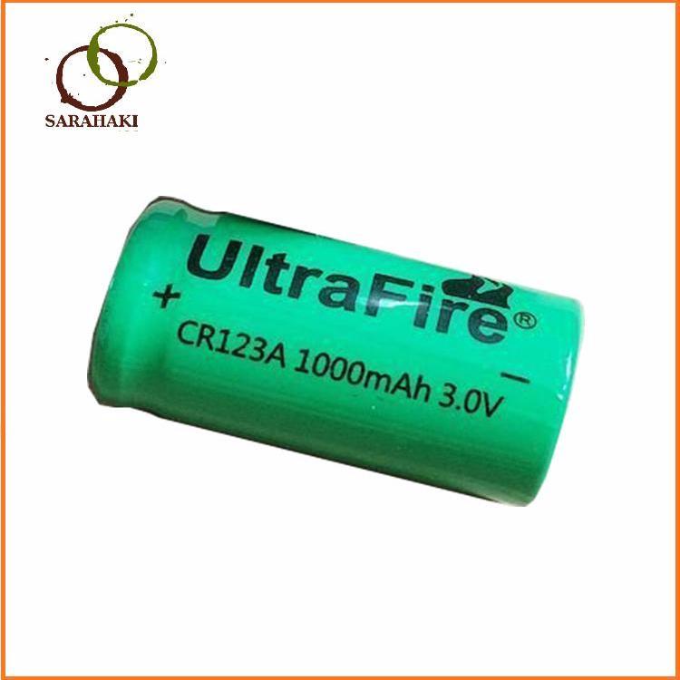 1 viên pin sạc CR123A Ultra Fire 3V, pin sạc CR123A máy ảnh