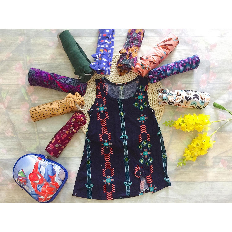 01 Váy cotton xẻ chân cho bé gái 2 tuổi size 2 10-12kg ( Mầu sắc bất kỳ)