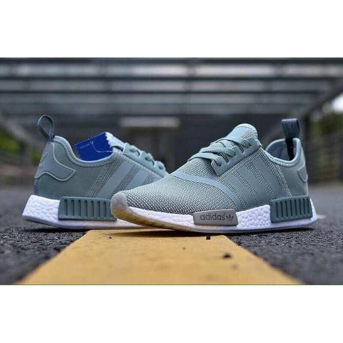 Hình ảnh giày adidas nmd X1 xanh ngọc