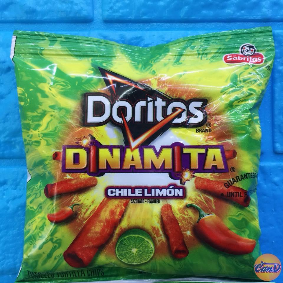 Bánh snack Doritos Dinamita vị Chile Lemon 31.8gr