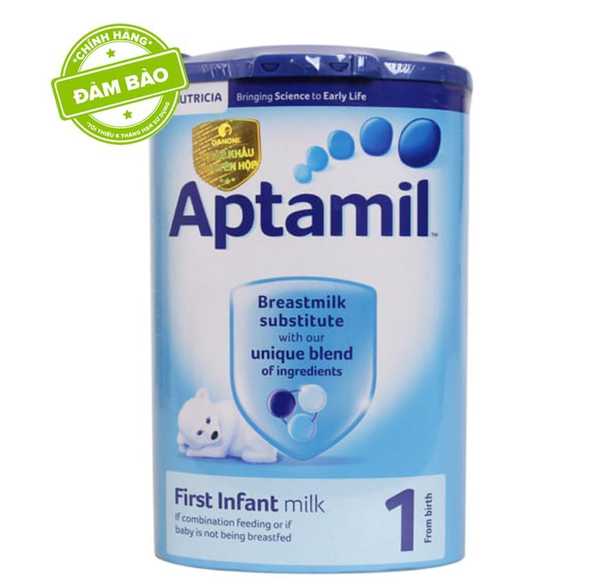 Sữa Aptamil Anh số 1 900g Nhập Khẩu (0-6 tháng)
