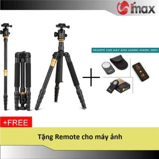 Chân máy ảnh Tripod Monopod Beike Q-666 + Remote cho máy ảnh thumbnail