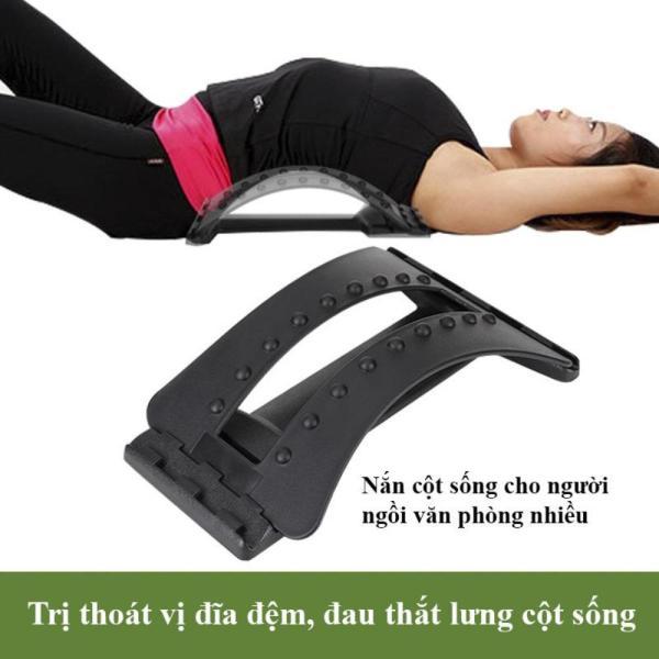 (Giá hủy diệt, Chỉ 1 ngày giá đặc biệt - Có video hướng dẫn) Khung nắn chỉnh cột sống, Dụng Cụ Massage Lưng Giảm Đau Cột Sống chữa đau lưng, đau vai gáy, thoát vị địa đệm, thoái hóa cột sống tại nhà