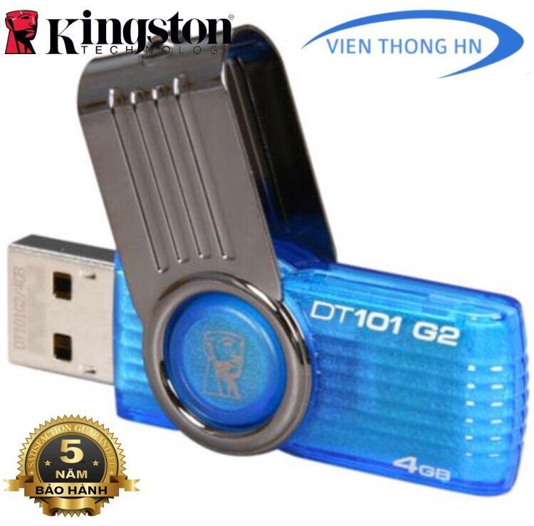 USB 2.0 Kingston DT101 G2 4GB - CÓ NTFS - DUNG LƯỢNG THỰC