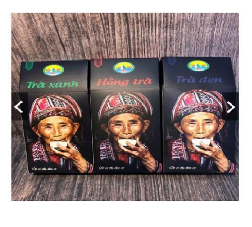 TRÀ SHAN TUYẾT HỮU CƠ FIN HO TEA HÀ GIANG (100g) - Organic Shan Tea Trà đen