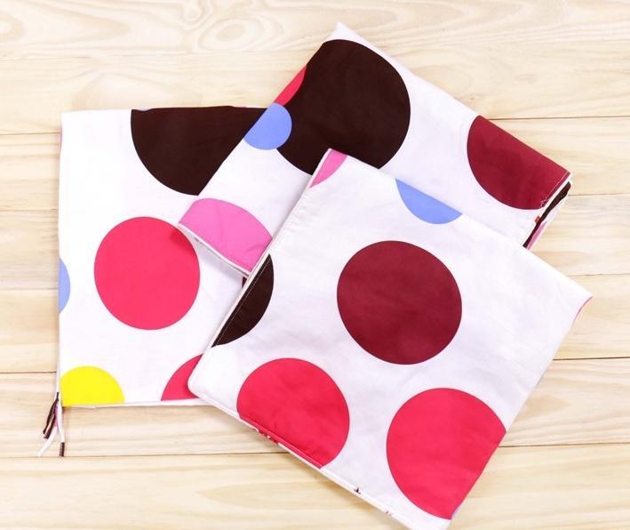 Áo gối cotton poly (40 x 60cm) - ao goi cotton - vỏ gối cotton - vo goi (giao mẫu ngẫu nhiên)