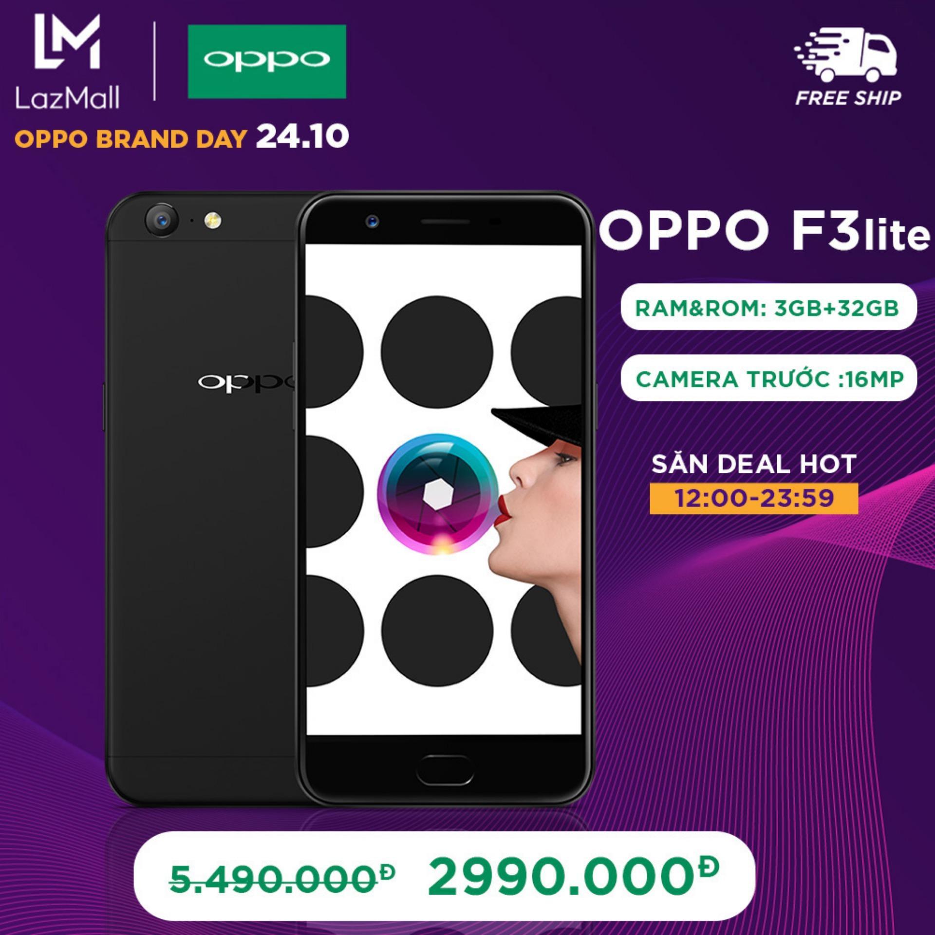 OPPO F3Lite (A57) 32GB - Hãng phân phối chính thức