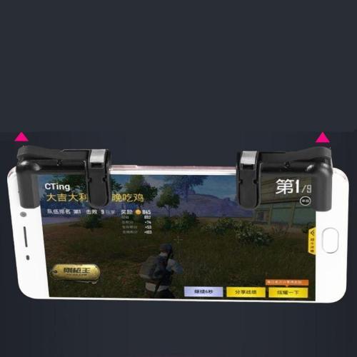 Bộ 2 nút bấm Pubg F1 hỗ trợ chơi PUBG mobile ,ROS mobile trên mobile, ipad