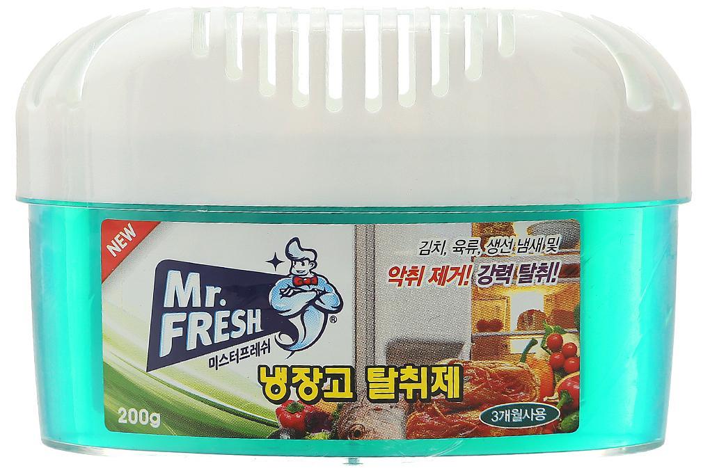 Hộp gel khử khuẩn tủ lạnh Mr Fresh - Korea 200g PNS40