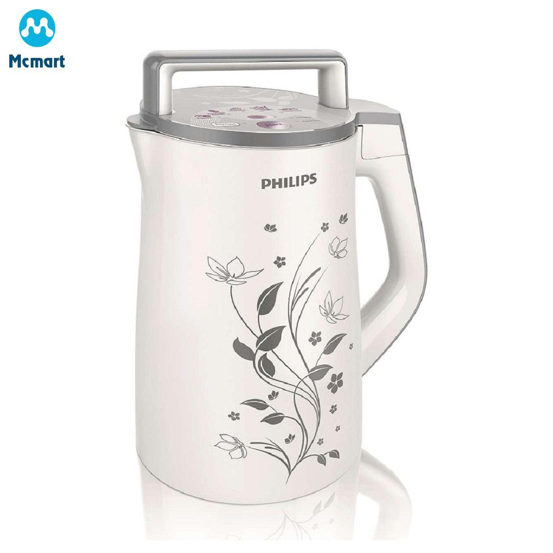 Máy làm sữa đậu nành Philips HD2072 (Trắng) - Hàng nhập khẩu