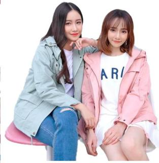 áo khoác nữ giá rẻ phông dài rộng thoáng 2018 thumbnail