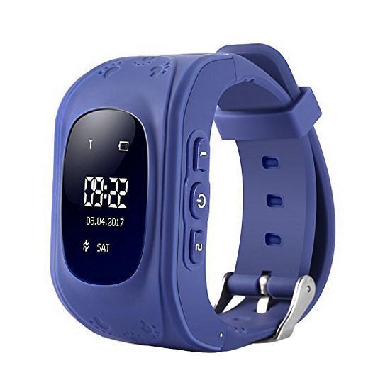 Đồng hồ định vị GPS Q50  siêu rẻ - Xanh than