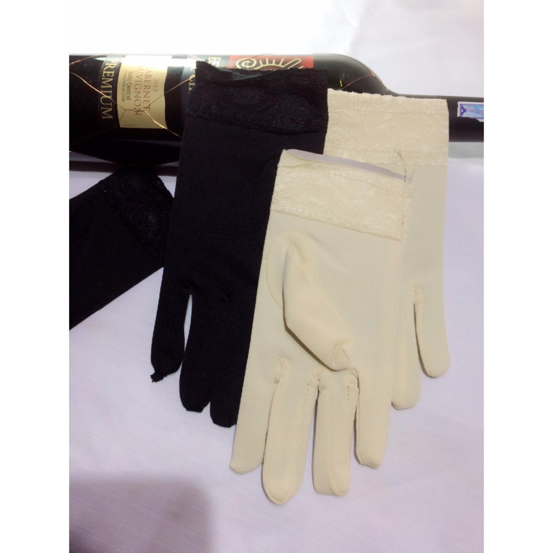 Combo 2  găng tay nữ cổ ngắn