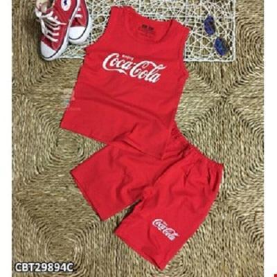 Bộ ba lỗ bé trai hoạ tiết hình Coca - Cola