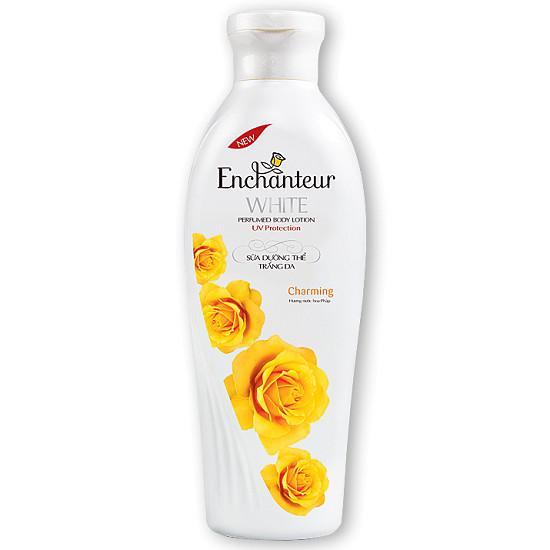Sữa Dưỡng Thể trắng da Enchanteur Charming 200G