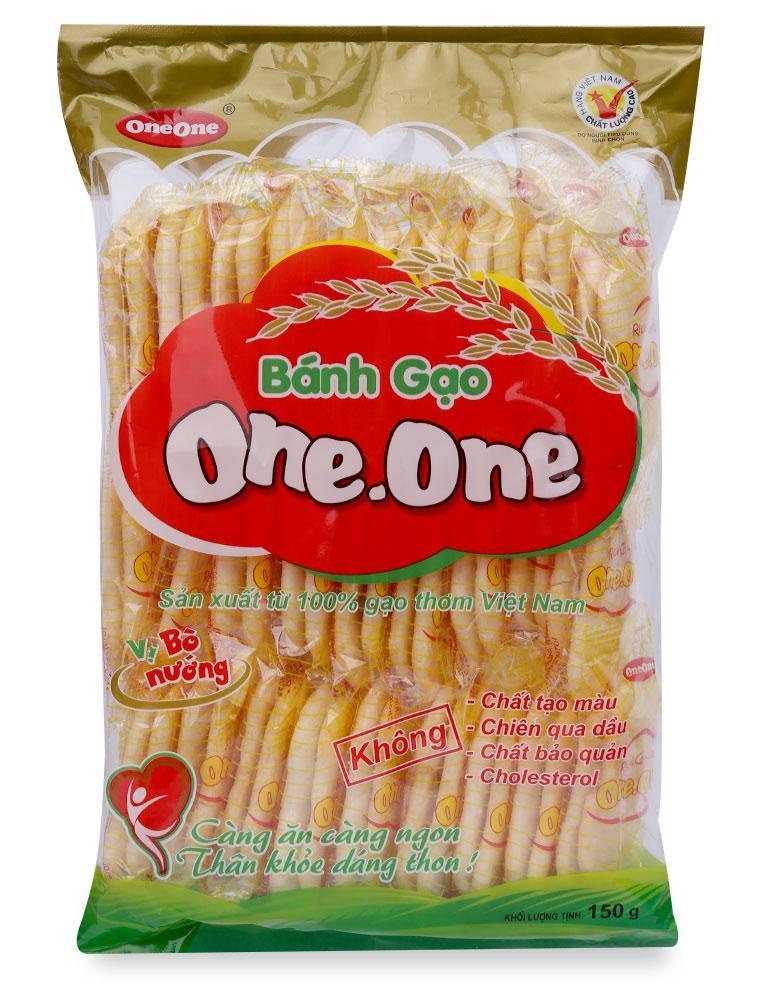 Bánh Gạo Vị Bò Nướng One One Gói 150G