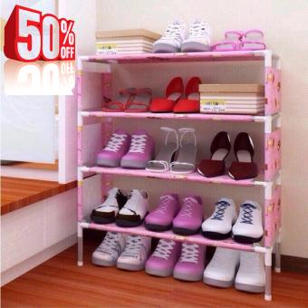 Tủ đựng giày dép bằng gỗ, Kệ đựng giầy dép inox bọc vải giá rẻ , BẢO HÀNH 1 ĐỔI 1