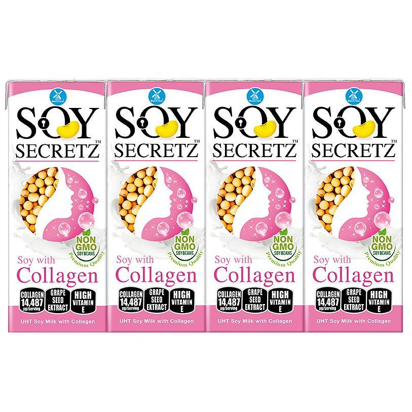 Sữa Đậu Nành Soy Secretz Collagen