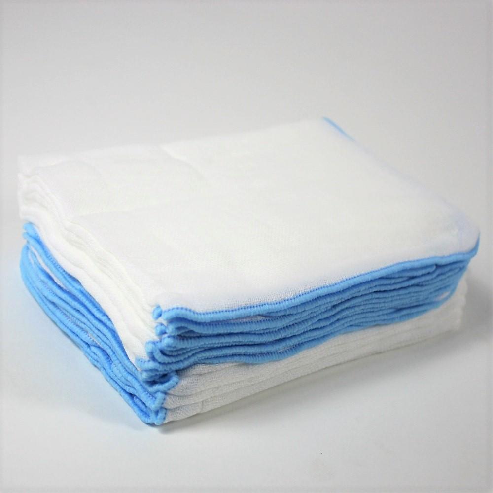 combo 20 khăn sữa xô 4 lớp 25x35cm dày dặn