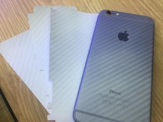 Miếng dán Carbon mặt lưng cho iPhone 5,5S,SE,6,6s,6p,6sp,7,7p,8,8p,X thumbnail