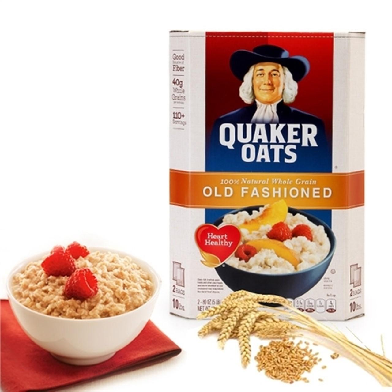 Bột yến mạch Quaker Oats nguyên chất USA nhập khẩu từ Mỹ 500g