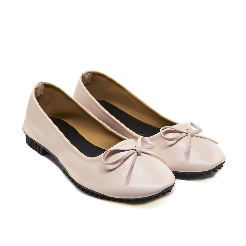 Giày búp bê nơ hồng