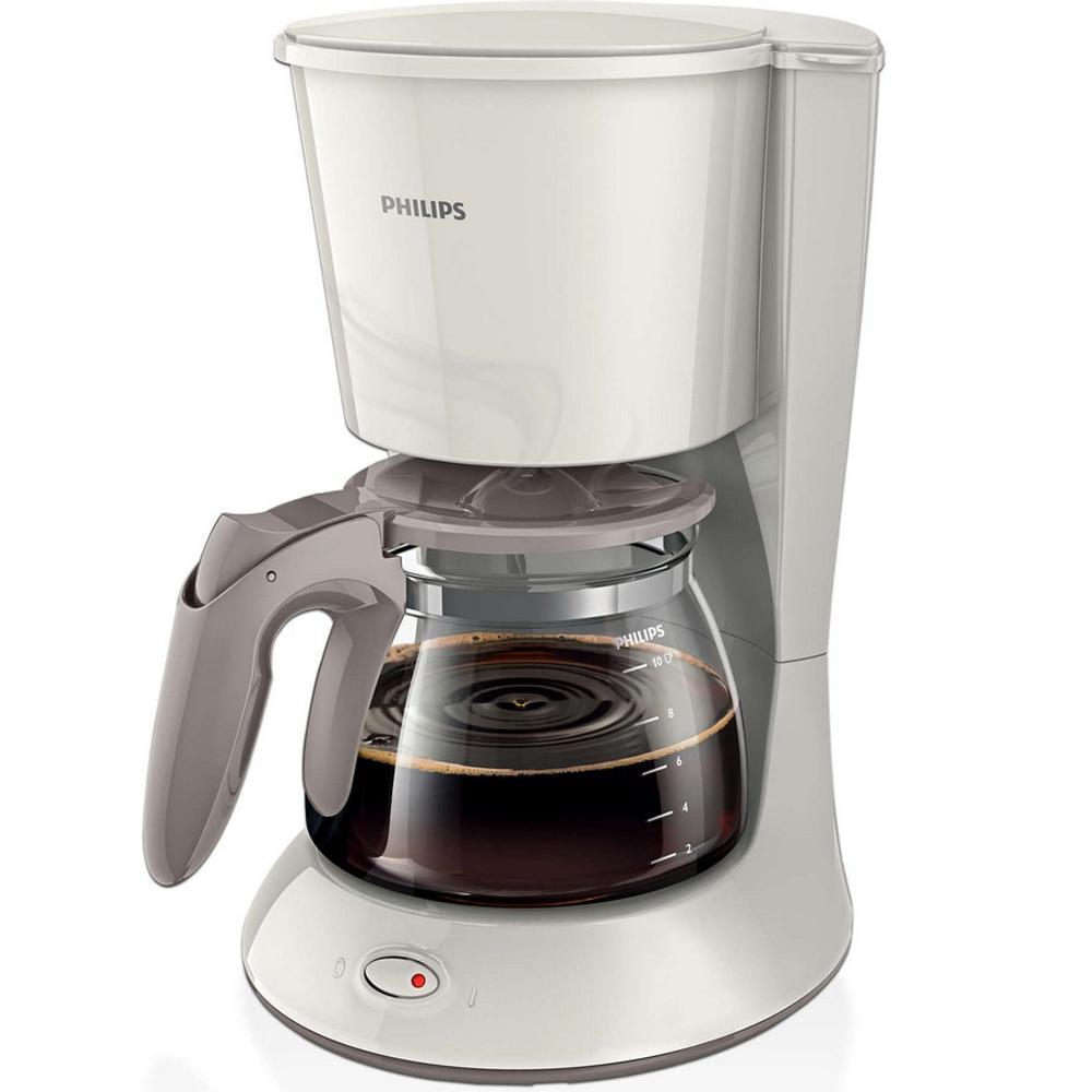 Máy pha cà phê Philips HD7447 1.2 lít ( TRẮNG)+ bàn chải đánh răng
