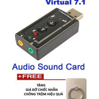 card âm thanh 7.1 cao cấp -Tặng giá đỡ điện thoại chiếc nhẫn thumbnail