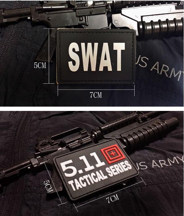 Miếng dán nhựa patch dán áo lính Batman Resident Evil Airborne