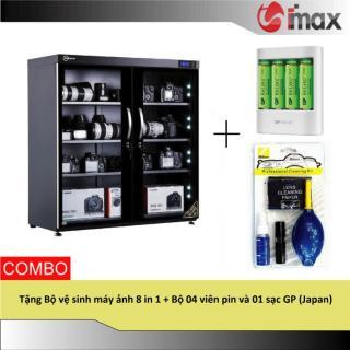 [Trả góp 0%]Tủ chống ẩm Nikatei NC-250S SILVER (250 lít) + Bộ vệ sinh máy ảnh 8 in 1 + Bộ 04 viên pin & 01 sạc GP (Japan) thumbnail