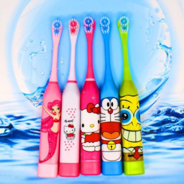 Bàn chải đánh răng xài pin dành cho bé