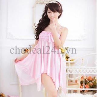 Áo đầm ngủ quyến rũ Angel CDAN03 (Đen) thumbnail