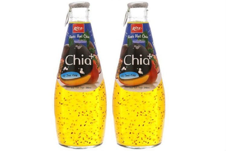 Nước Ép Trái Cây Hạt Chia Hương Trái Cây 290ml (2 chai)
