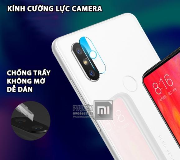 Kính Cường lực camera xiaomi redmi 6 pro / Xiaomi mi a2 lite ( tặng giấy lau màn 1/2 )