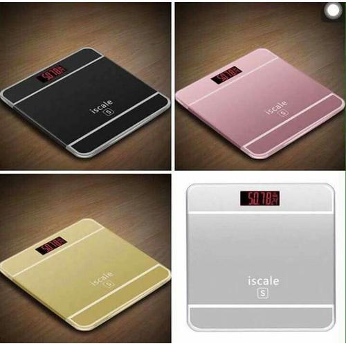 Cân sức khỏe kiểu Iphone Iscale cho gia đình thân yêu - Hàng chất lượng cao