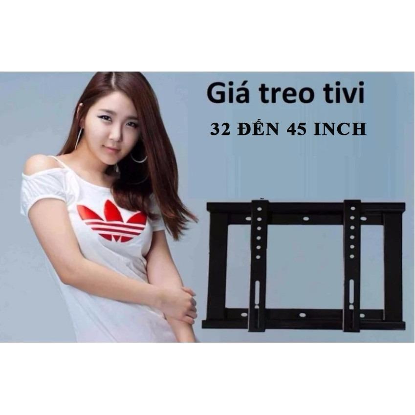 Giá treo  tivi phẳng ôm sát tường - từ 32' đến 45'