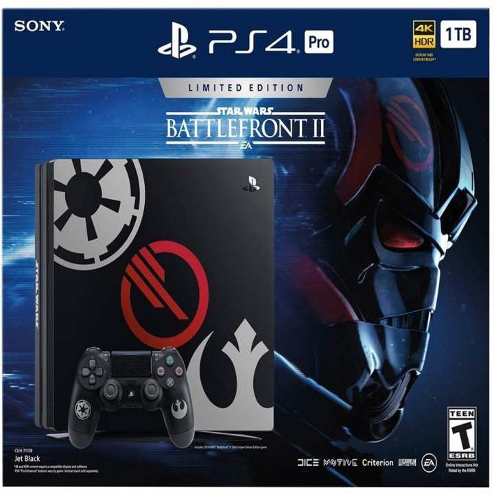 Sony PS4 Pro 1TB Star War Battlefront 2 FW 5.05 [Hacked]