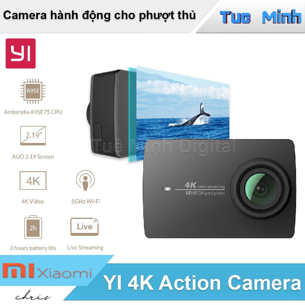 Camera hành động Xiaomi YI 4K Action Camera - Cam dùng cho phượt thủ